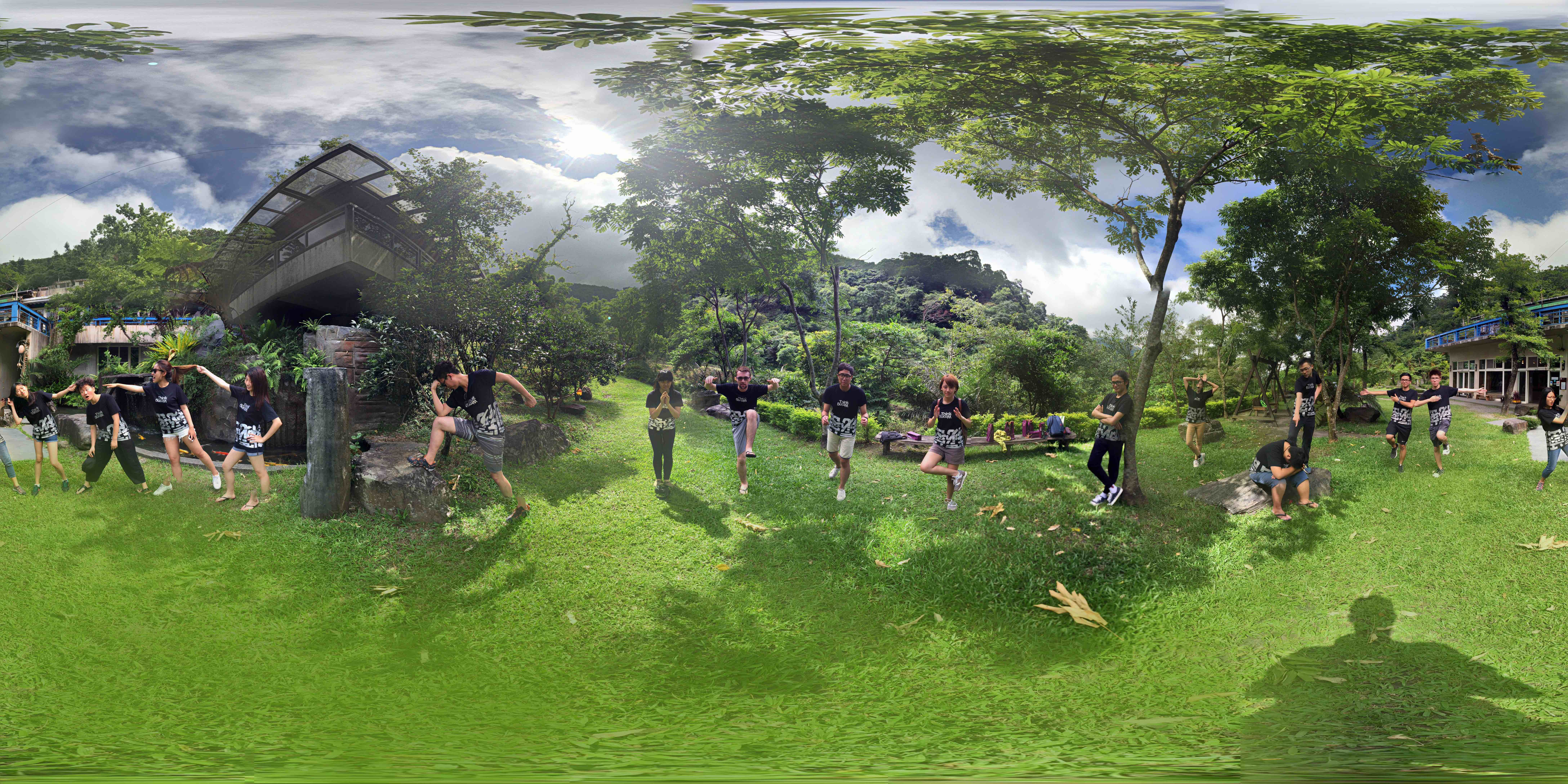 A static 360 photo of Secret Project Taiwan 2016